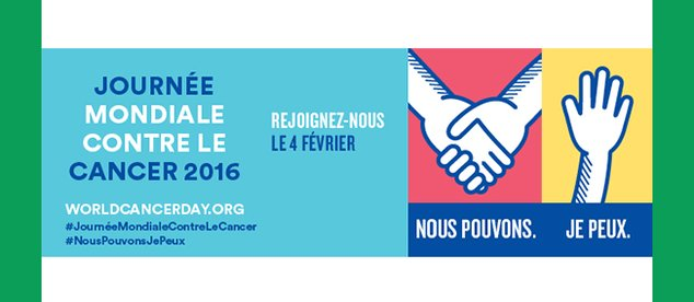 Journée mondiale contre le cancer 2016